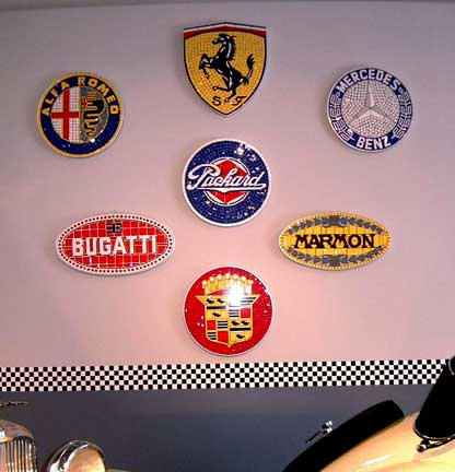 Exotic Mosaics of Auto Art, Automobile Art, Automotive Art, Car Art ...
